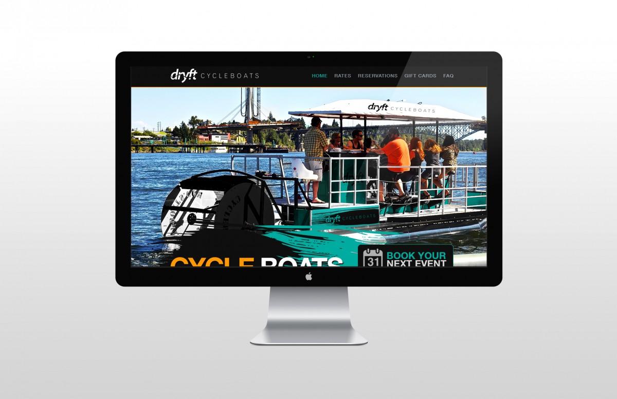 Dryft-Homepage